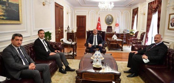 Başkan Çebi Adalet Bakanı Gül ile Görüştü