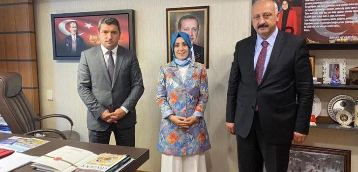 Başkan Çebi Gazi Meclisinde Trabzon Milletvekili Ayvazoğlu ile Görüştü