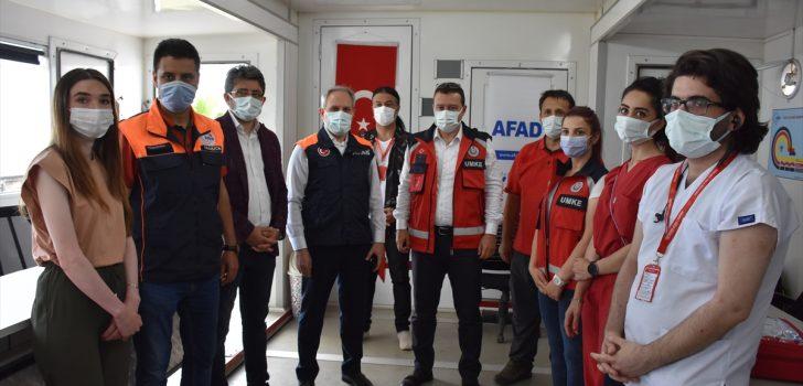 Trabzon'da mobil tırla Kovid-19'a karşı aşı uygulaması başladı