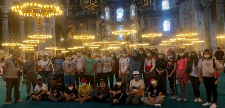Trabzonlu gençler ecdadı ile buluştu