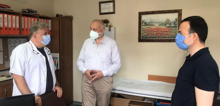 Kaymakam Karaca ve Başkan Çebi 3. Doz Aşılarını Yaptırdı