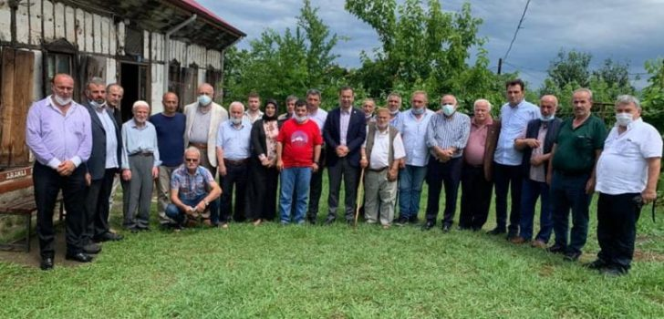 Trabzon Milletvekili Cora Araklı'da