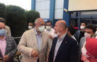 Başkan Çebi İçişleri Bakanı Soylu ile Görüştü