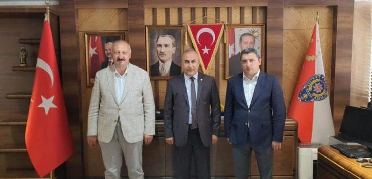 Başkan Çebi'den Trabzon İl Emniyet Müdürüne Hayırlı Olsun Ziyareti