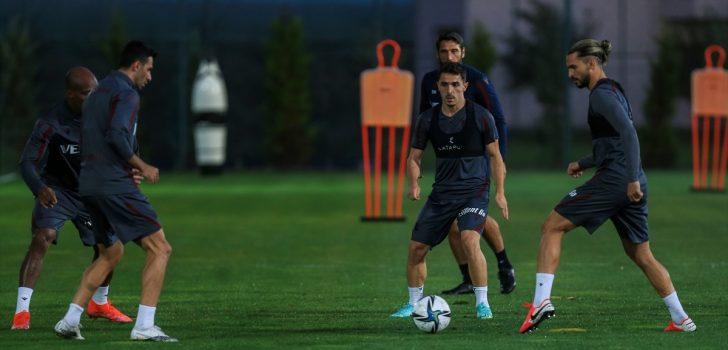 Trabzonspor, Aytemiz Alanyaspor maçının hazırlıklarını tamamladı