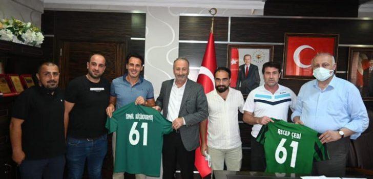 Araklı İdman Yurdu Spor Kulübünden Başkan Çebi'ye Ziyaret