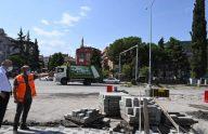 Araklı'da Sokak Sağlıklaştırma Projesi Devam Ediyor