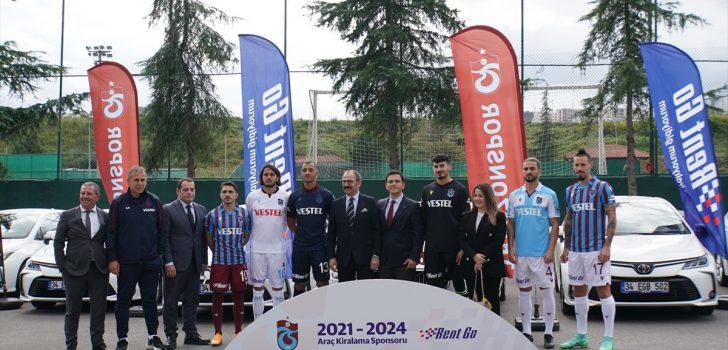 Trabzonspor, Rent Go ile 3 yıllık araç kiralama sponsorluğu imzaladı