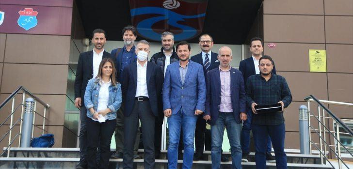 """Trabzonspor Kulübü Başkanı Ağaoğlu: """"Takımlar camialarıyla başarıya ulaşır"""""""