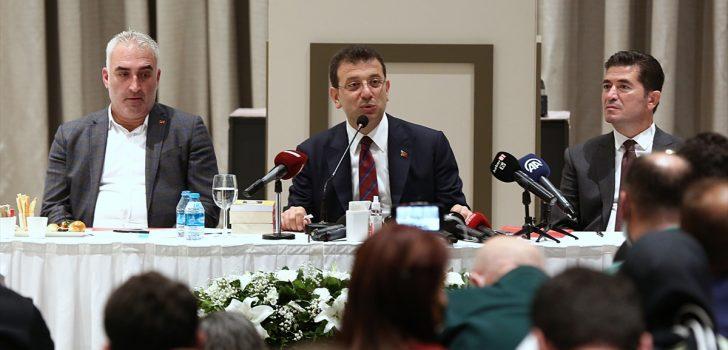İstanbul Büyükşehir Belediye Başkanı İmamoğlu Trabzon'da basın toplantısı düzenledi:
