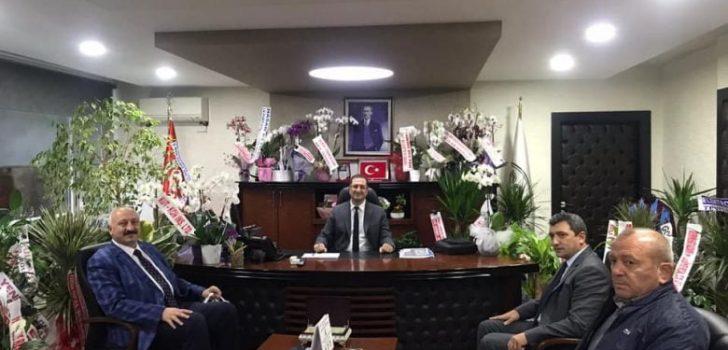 Başkan Çebi'den DSİ Bölge Müdürüne Hayırlı Olsun Ziyareti