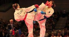 Türk karatecilerden 7 madalya
