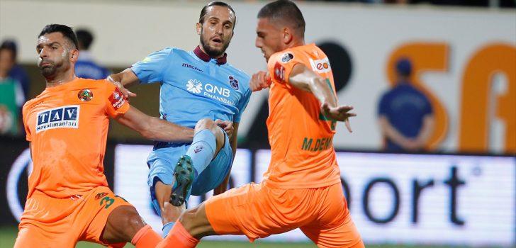 Trabzonspor'da Yusuf Yazıcı'ya destek