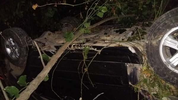 Trabzon'da otomobil fındıklığa uçtu – 4 yaralı