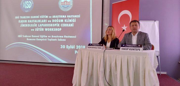 Trabzon'da laparoskopik ameliyat teknikleri tartışıldı