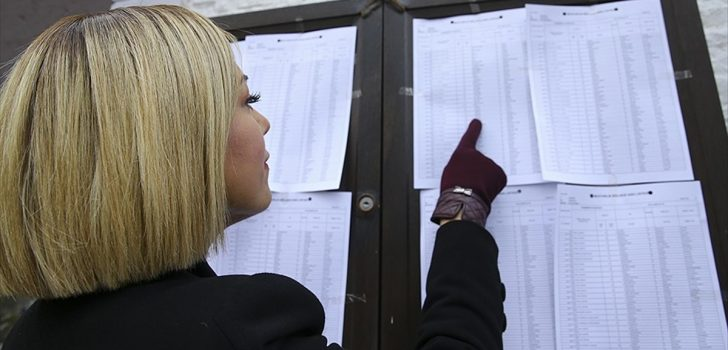'Seçmen listelerini kontrol etmek için bugün son gün'