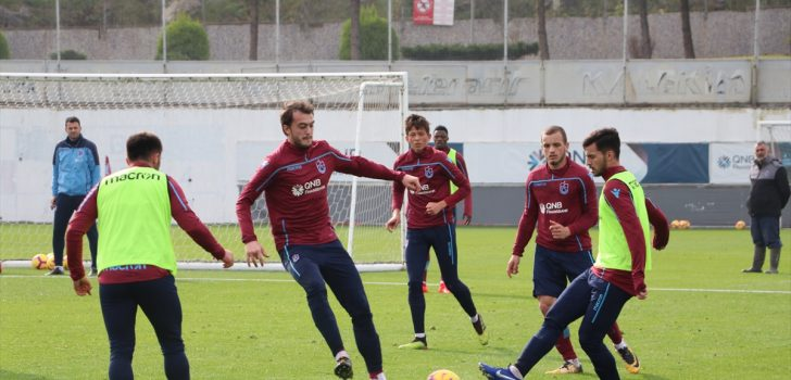 Trabzonspor'da Ankaragücü maçı hazırlıkları