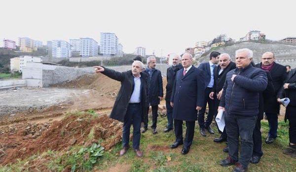 Bakan Turhan'dan Kanuni Bulvarı incelemesi