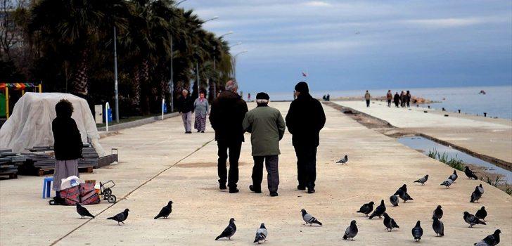 Türkiye'de yaşlı nüfus 5 yılda yüzde 16 arttı