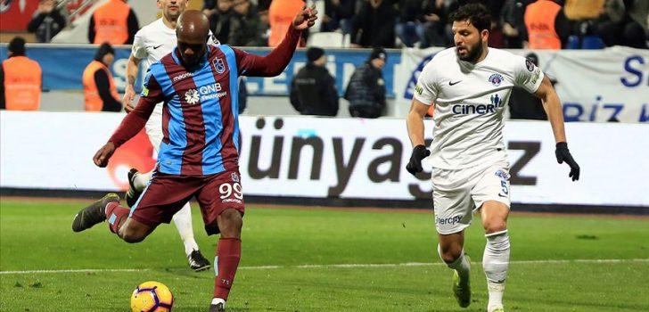Trabzonspor, Nwakaeme ile kaybetmiyor