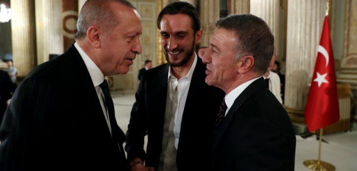 Cumhurbaşkanı Erdoğan, Trabzonspor'u ağırladı!
