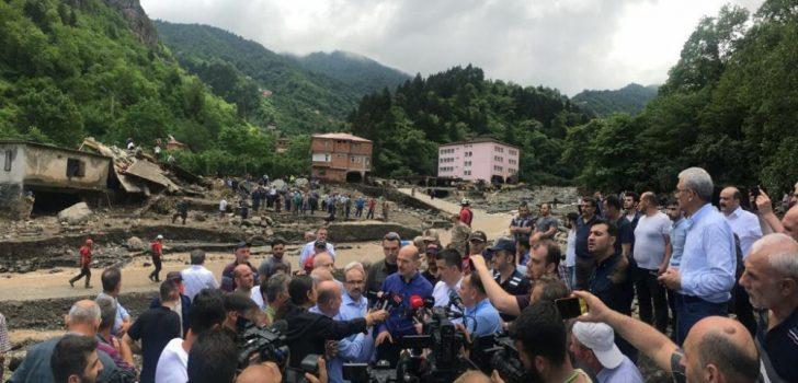 Trabzon'da sel felaketi: Ölü sayısı 4'e yükseldi