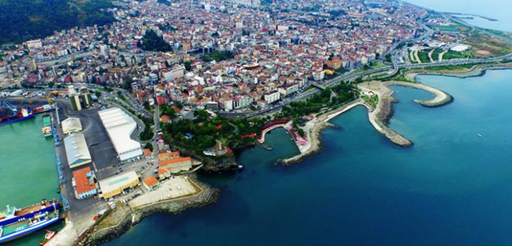 Karadeniz'in yükünü Trabzon çekiyor!