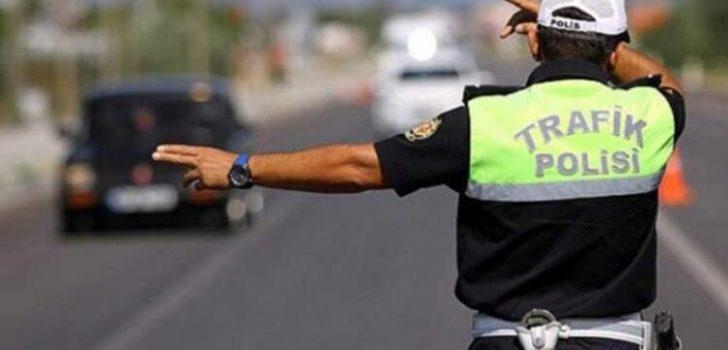 Trabzon'da trafik denetimlerinde peş peşe cezalar!