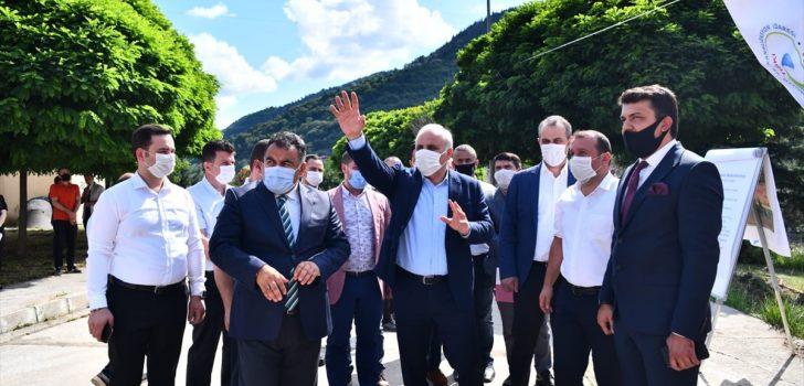 Trabzon'un içme suyu ve altyapı sorunları çözülüyor