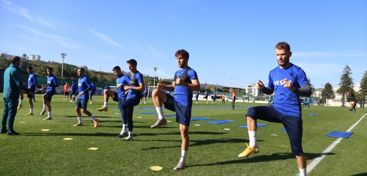 Trabzonspor'da Büyükşehir Belediye Erzurumspor maçı hazırlıkları