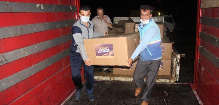 Depremzedelerin Ekmeği Trabzon'dan