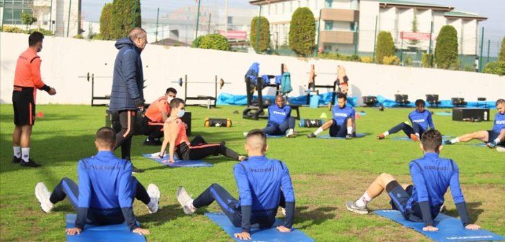 Trabzonspor, Sivasspor maçının hazırlıklarını sürdürdü