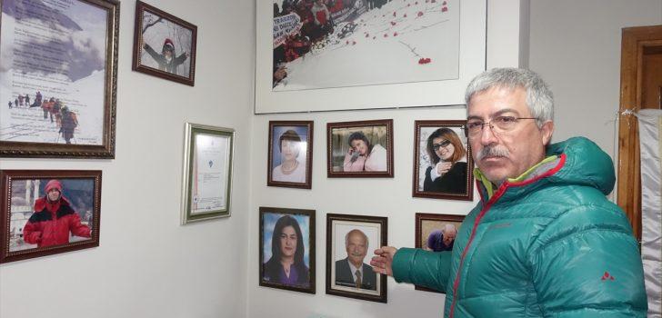 Trabzon'da 12 yıl önce çığın hayattan kopardığı 10 dağcı unutulmadı