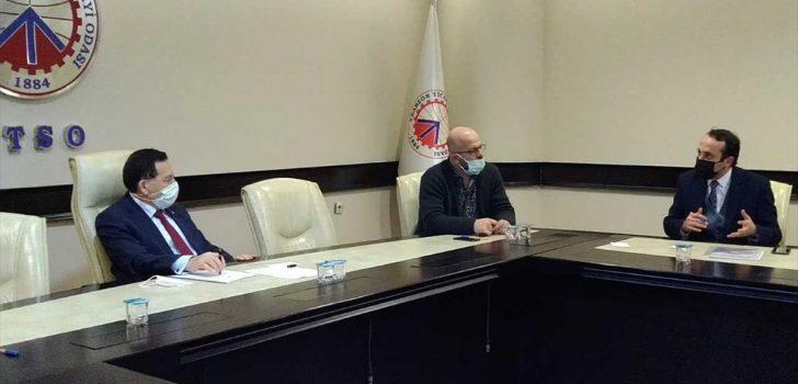 Trabzon'da turizm sektörü temsilcileri TTSO'da bir araya geldi
