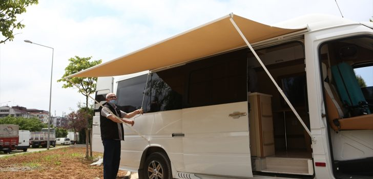 Trabzon'da, ilgi artınca sanayideki firmalar karavan üretimine yöneldi