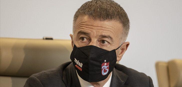 Trabzonspor Kulübü Başkanı Ahmet Ağaoğlu'ndan transfer açıklaması: