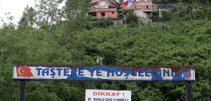 Trabzon'da cenaze törenlerine katılan Kovid-19 pozitif hastaları nedeniyle 46 yeni vaka tespit edildi
