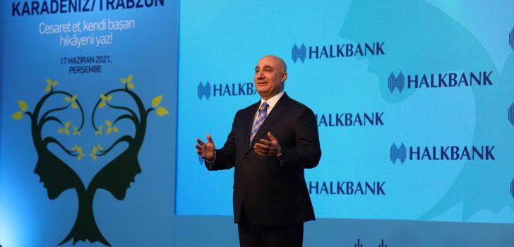 """""""Halkbank Üreten Kadınlar Toplantısı"""" Trabzon'da gerçekleştirildi"""