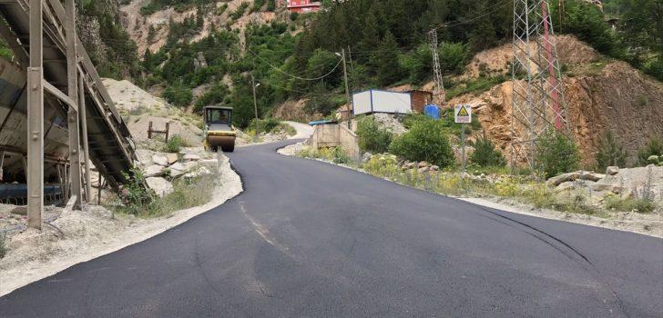 Trabzon'da altyapı çalışmaları devam ediyor