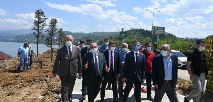 Trabzon Valisi Ustaoğlu Araklı'da