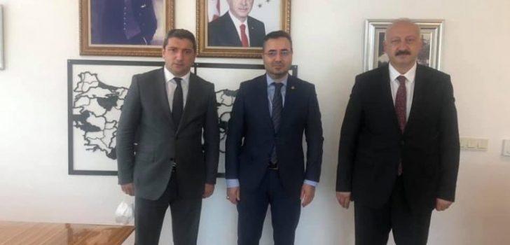 Başkan Çebi İller Bankası Genel Müdür Yardımcısını Ziyaret Etti