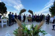 Başkan Çebi İlçe Başkanı Bıyık'ın Nikah Merasimine Katıldı