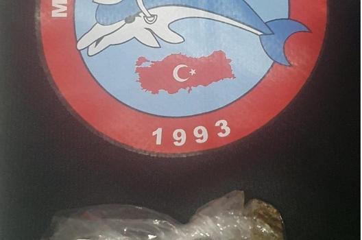 Trabzon'da uyuşturucu madde ve tabanca ele geçirildi