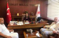 Başkan Çebi'den Yeni Cumhuriyet Başsavcısına Hayırlı Olsun Ziyareti