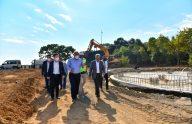 Trabzon Büyükşehir Belediye Başkanı Zorluoğlu, yapımı devam eden projeleri inceledi