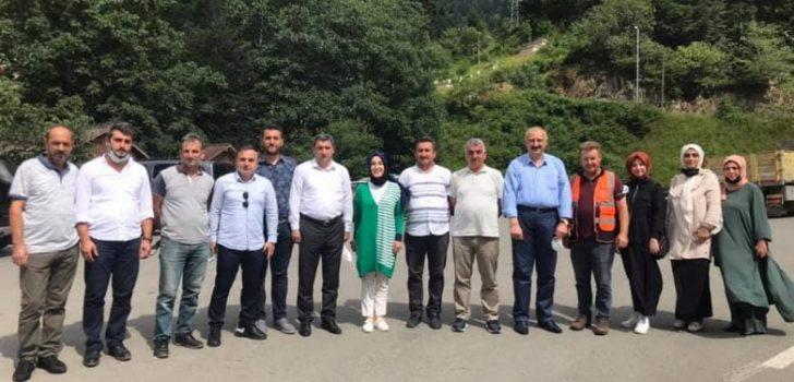 Trabzon Milletvekili Ayvazoğlu Kayaiçi, Erenler ve İyisu Mahallelerini Ziyaret Etti