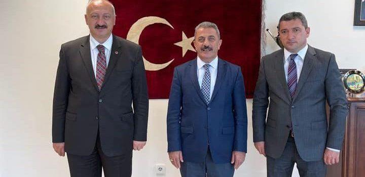 Başkan Çebi Araklılı Hemşehrisi Yurtdışı Akraba Toplulukları Başkan Yardımcı ile Görüştü
