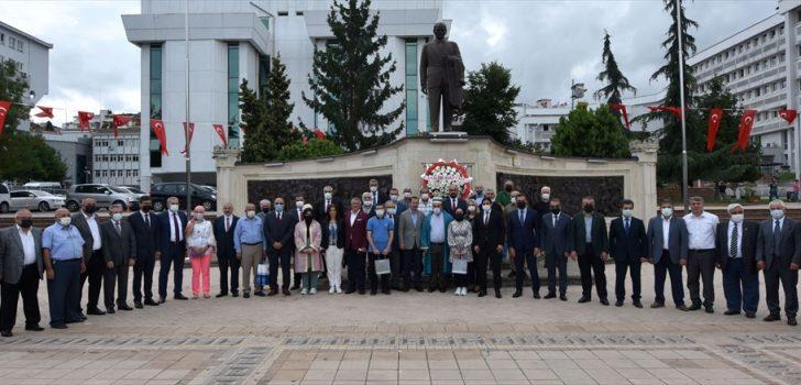 Trabzon'da Ahilik Haftası kapsamında tören düzenlendi