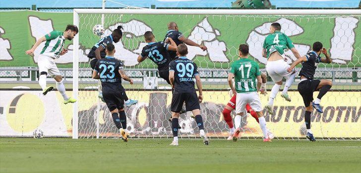Trabzonspor ile Konyaspor 41. randevuda