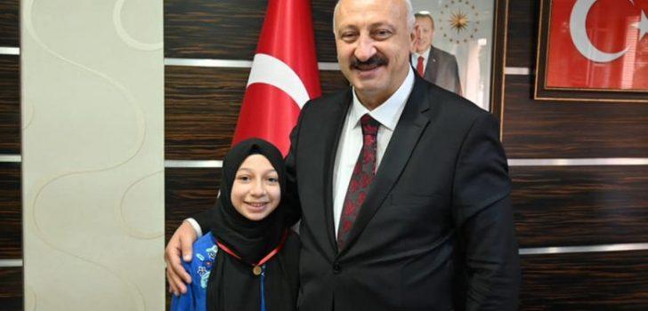 Araklılı Ebrar Trabzon'un Gururu Oldu
